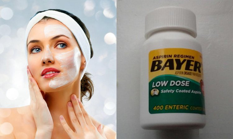 Безупречная кожа с масками из аспирина
