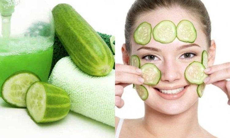 Умывание огуречной водой - один из вариант увлажнения и тонизирования кожи лица