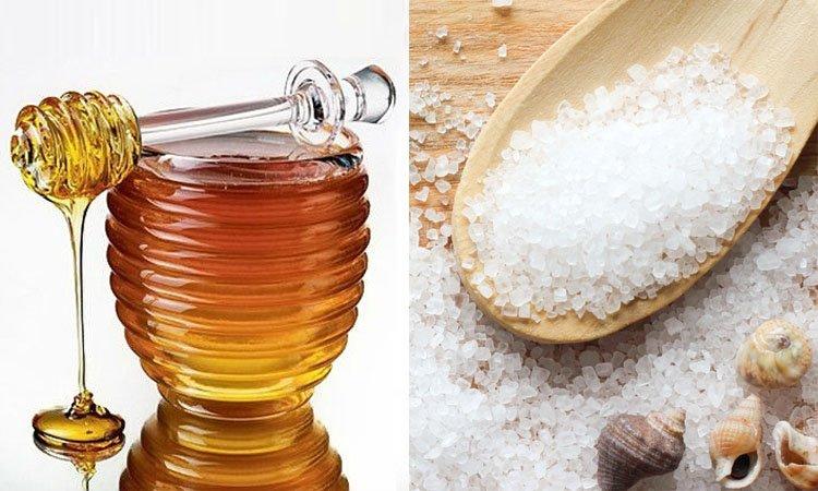 Мед и соль - секрет простого и качественного ухода за кожей