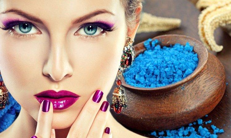 Применение соли в домашней косметике