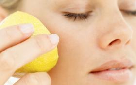 Лимон - это красота, здоровье и молодость Вашего лица