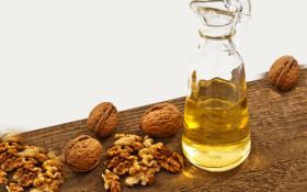 Польза масла грецкого ореха для лица